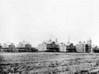 An early photo of the old Mimico Lunatic Asylum.