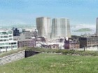 The new face of Halifax is about to emerge, as seen from the Citadel Hill leading out towards a transitioning harbour.