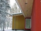 wood is reserved for protected areas on the house's exterior such as the soffit.