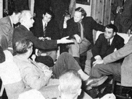 The Banff Sessions in 1957, with Richard Neutra holding court.