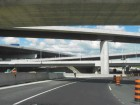 a Series of Overpasses on the Way to Pearson International Airport.