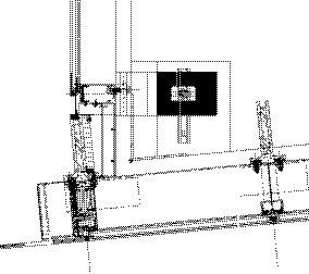 National Ballet School pavilion glass screen plan: detail