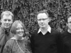 left to right: John Patkau, Patricia Patkau, Craig Simms, Peter Suter