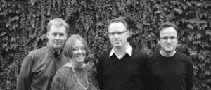 left to right: John Patkau, Patricia Patkau, Craig Simms, Peter Suter