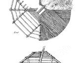 A Plan and Section of a Pit House
