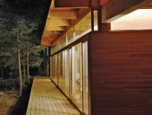 Above Right the Illusory Narrative That Juxtaposes Forest With Inhabitation Is Always Present When Visiting the Home.