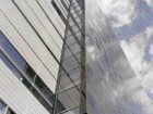 Two Images that Indicate the Contrasting and Dynamic Materiality of the Building.