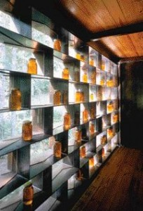 Marlon Blackwell's Beehive-Inspired Moore Honeyhouse in Cashers, North Carolina Required a Structure for the Purpose of Processing and Storing Honey.