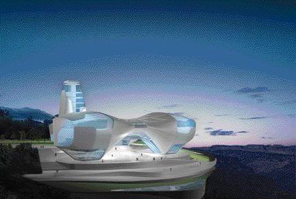 Asymptote's Highly Incredulous Proposal for the Guggenheim Museum in Guadalajara, Mexico.