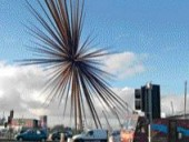 """Heatherwick Studio's Innovative Work Operates at a Variety of Scales, and Includes a Dramatic Sculpture for Manchester Entitled """"B Is for Bang""""."""