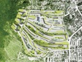 Intriguing Strips of Development Wrap the Contours of the Malaysian Landscape.