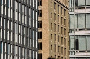 Two Images Reveal How Unity 2 Responds Contextually and Seamlessly Relative to the Neighbouring Buildings. .