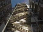 Sculptural Dynamics Present in the Overt Expression of the Exterior Fire Escape