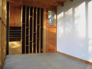 Great Care and Attention Was Paid to the Artist's Requirements, and Well-Crafted Millwork Suitable for the Storage of Finished Pieces and Works in Progress Anchors One End of the Light-Filled Studio.