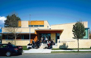 The Willow Street Elevation Provides a Safe Drop-Off Zone and a Visual Axis With the Vancouver Jewish Community Centre Across the Street.