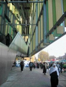 Two More Views of the Whitechapel Road Idea Store Offer a Sense of the Community Flavour, Scale and Surrounding Context.