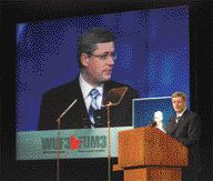 Prime Minister Stephen Harper Opens the World Urban Forum.