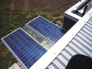 Innovations Such as Photovoltaic Arrays Contribute to the Project's Ability to Remain Entirely Off the Grid.