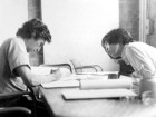 A Very Young Bruce Kuwabara Learns From the Master, Barton Myers.