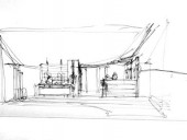 Loose Sketches of the Marc Laurent Clothing Shop...