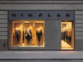 Early KPMB Projects Include Retail Interiors Such as Yorkville's Nicolas.
