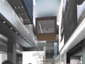 Interior Rendering of the Headquarters of the Toronto International Film Festival (TIFF).