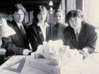 Early Photo of KPMB Team Members Thomas Payne, Shirley Blumberg, Marianne Mckenna and Bruce Kuwabara.