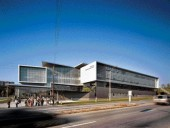 ...and Exterior Views of the Award-Winning Centennial HP Science and Technology Centre (2004) in Suburban Toronto.