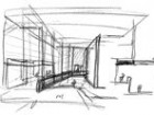 An Interior and an Exterior Conceptualization of the National Ballet School.