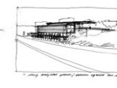 Some of Bruce's Many Sketches Include Centennial College.