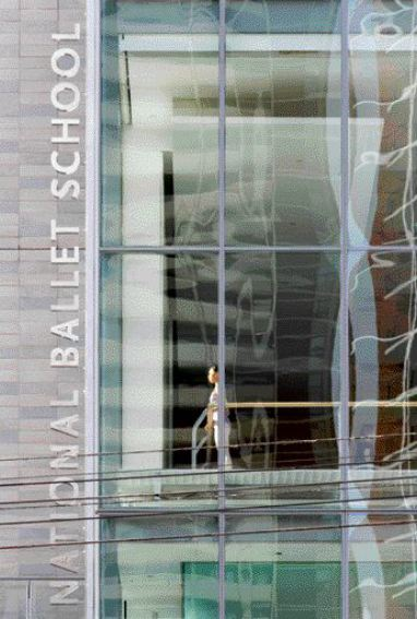 The National Ballet School Project (2005) Designed in Conjunction With Goldsmith Borgal & Company Architects More Than Meets the Needs of the Dancers, and Also Forms Part of a Critical New Urban Precinct in a Transitional Downtown Toronto Neighbourhood.
