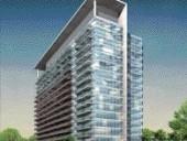 Rendering of the Neo Condominium Building in Toronto Designed for developer Concord Adex.
