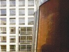 Exterior of the Canadian Embassy in Berlin (2005) Highlights the Juxtaposition of Forms and Materials That Enliven the Austerity of a Government Facility.