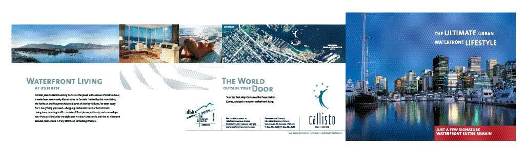 The Callisto Condo Invites Potential Buyers to Experience Its Prime Location Adjacent to Stanley Park, With Views of the Harbour and Downtown Vancouver.
