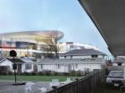 Emerging From Behind a Suburban Neighbourhood in Richmond, the New Aberdeen Centre Creates Its Own Veritable Skyline.