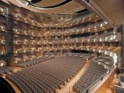 The Acoustically Perfected Interior of the Auditorium Boasts Five Tiers of 2,000 Seats.