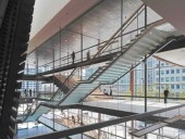 The Shallow Incline of Various Staircases Encourages a Thorough Engagement and Enjoyment of the City Room, Part of Which Doubles as the Informal 150-Seat Richard Bradshaw Amphitheatre.