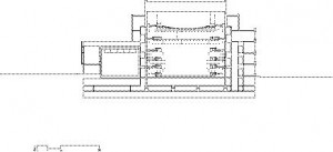 Cross Section Through Auditorium
