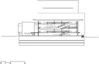 Cross Section Through City Room