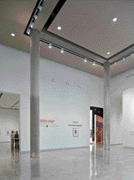 Inside the Art Gallery.