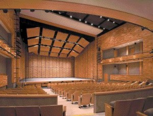 An Interior View of the Main Theatre Space.