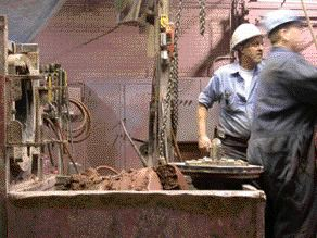At the Beginning of the Manufacturing Process, a Mixture of Ground Clay Begins Its Transformation Into Brick.