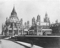 The Original Centre Block Before It Was Razed to the Ground