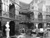 The Original Book Stacks in 1898