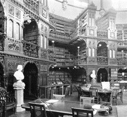 The Original Book Stacks in 1898