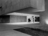 The Simple Monolithic Main Entry of the Winnipeg Art Gallery (1971).