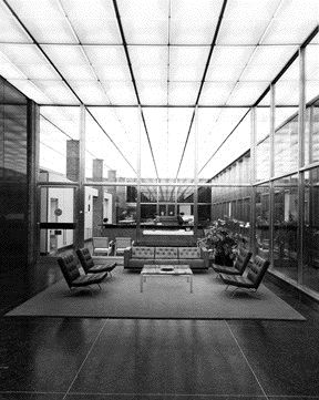 The Airport's Reasonably Preserved Interior in a Photo Taken by Martin Tessler in 2005;