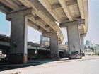 A Difficult Piece of Infrastructure to Remove, the Nearby Dufferin-Montmorency Highway Overpass(below) Underwent a Beautification Process to Make Its Presence at Street Level More Tolerable.