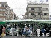 An Informal Market in Mexico City.