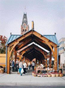 A Farmers' Market in Belleville by DTAH.